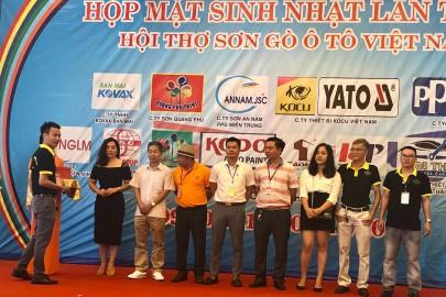 Kocu Việt Nam - Nhà tài trợ đồng hành kỷ niệm sinh nhật lần thứ 4 Hội thợ sơn gò ô tô Việt Nam