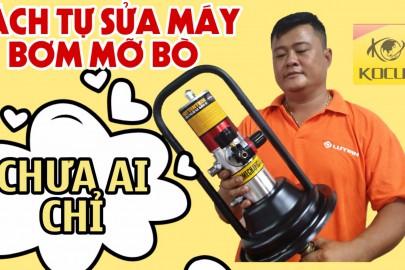 Những lỗi hay gặp và cách sửa chữa máy bơm mỡ khí nén tại nhà