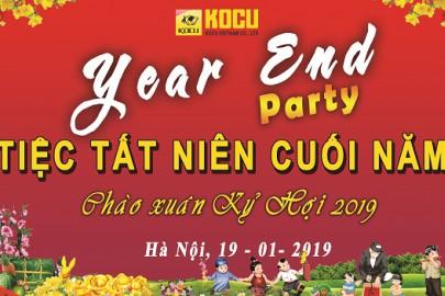 Tiệc tất niên Kocu Việt Nam đón Tết Kỷ Hợi 2019