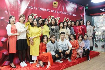 Kocu Việt Nam tưng bừng tổ chức tiệc tất niên 2020
