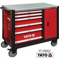 Tủ đựng đồ nghề cao cấp 6 ngăn kết hợp bàn làm việc YATO YT-09002