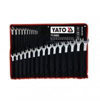 Bộ cờ lê vòng miệng 26 chi tiết 6-32mm Yato YT-03652