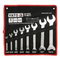 Bộ cờ lê 2 đầu miệng hệ inch 8 chi tiết Yato YT-48371