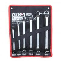 Bộ cờ lê 2 đầu tròng hệ inch 6 chi tiết  Yato YT-48651