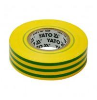 Băng dính điện màu vàng,xanh lá Yato YT-81655