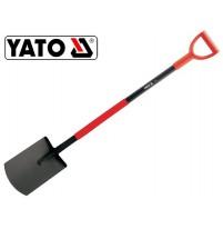 Xẻng xúc đất làm vườn loại lưỡi vuông dẹp Yato YT-86800