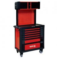 Tủ đựng đồ nghề cao cấp 8 ngăn có giá treo Yato YT-09008