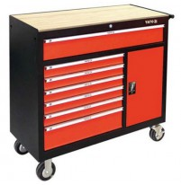 Tủ đựng đồ nghề cao cấp 8 ngăn mặt gỗ Yato YT-09141