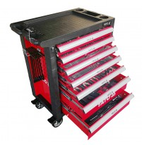 Tủ đồ nghề sửa chữa cao cấp 7 ngăn 400 chi tiết Yato YT-55302