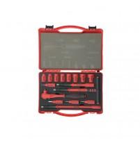 Bộ tuýp tay vặn tổng hợp 3/8 inch cách điện 16 chi tiết Yato YT-3863V