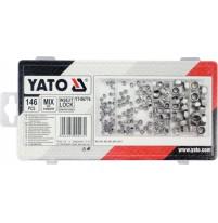 Bộ đai ốc tổng hợp 146 chi tiết Yato-06774