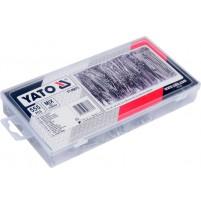 Bộ chốt khóa tăm 555 chi tiết Yato YT-06873