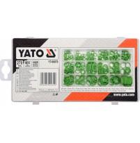 Bộ phớt cao su máy lạnh tổng hợp 270 chi tiết Yato YT-06879