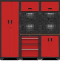 Bộ tủ và giá đựng đồ nghề 6 chi tiết YT-HT01