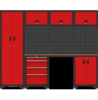 Bộ tủ và giá đựng đồ nghề 7 chi tiết YT-HT02