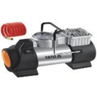 Máy nén khí cầm tay ô tô có đèn Led 180W Yato YT-73460