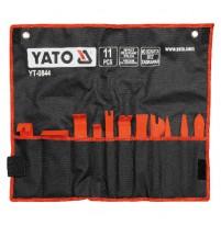 Bộ tháo lắp nội thất ô tô 11 chi tiết Yato YT-0844