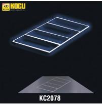 Hệ thống đèn LED rửa xe KC2078