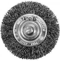 Chổi cước sợi inox 50mm Yato YT-47565