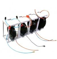 Cuộn dây điện tự rút 10m Trong bộ dây tự thu gara rửa xe