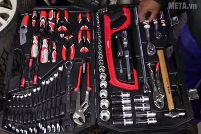 Hộp đồ nghề sửa chữa xe máy Yato YT-38951