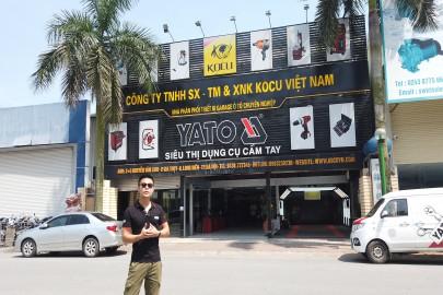 Tham quan một vòng Công ty Thiết Bị KOCU Việt Nam